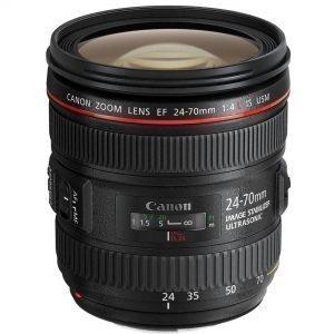 Canon EF 24-70mm f/4L IS USM – Garanzia Canon Italia 2 anni