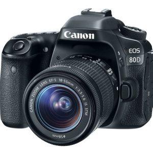 Canon 80D + 18/55 IS STM  Garanzia Canon Pass Italia