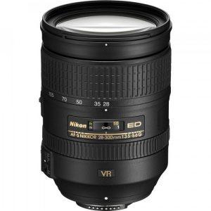 Nikkor AF-S 28-300mm f/3.5-5.6 G ED VR – Garanzia 4 anni Nital
