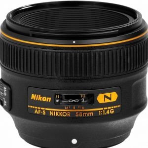 Nikkor AF-S 58mm f/1.4 G – Garanzia 4 anni Nital
