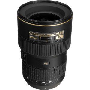 Nikkor AF-S 16-35mm f/4G ED VR – Garanzia 4 anni Nital