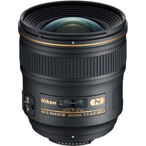 Nikkor AF-S 24mm f/1.4 G – Garanzia 4 anni Nital