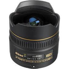 Nikkor AF DX 10.5mm f/2.8 G ED Fisheye – Garanzia 4 anni Nital