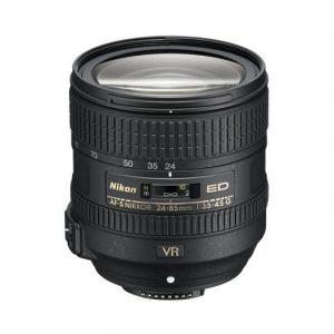 Nikkor AF-S 24-85mm f/3.5-4.5 G ED VR – Garanzia 4 anni Nital