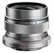 Olympus M.ZUIKO DIGITAL ED 12mm 1:2.0 Silver – Garanzia Polyphoto Italia