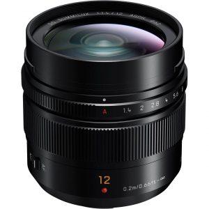 Panasonic Leica DG Summilux 12mm F1.4 ASPH – Garanzia 4 anni Fowa Italia