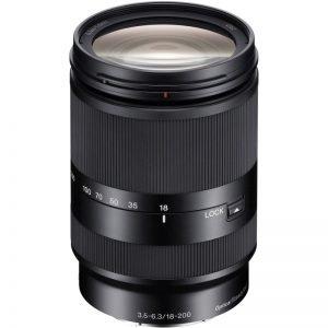 Sony E 18-200mm LE F3.5-6.3 OSS – Garanzia Sony Italia 2 anni