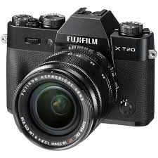 FUJIFILM X-T20 Black 18/55 – Garanzia Fujifilm Italia