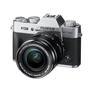 Fujifilm X-T20 Silver 18/55mm Garanzia Fujifilm Italia