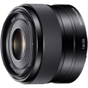 Sony E 35mm F1.8 OSS – Garanzia Sony Italia 2+1 anni