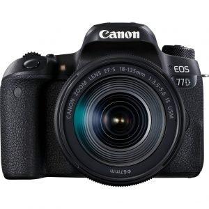 Canon Eos 77D EF-S 18-135 IS USM Garanzia Canon Pass Italia