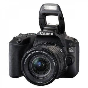 Canon Eos  200D con 18/55 IS STM Garanzia Canon Pass Italia