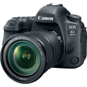 Canon EOS 6D Mark II + EF 24-105 mm f/3.5-5.6 IS STM Garanzia Canon  Pass Italia