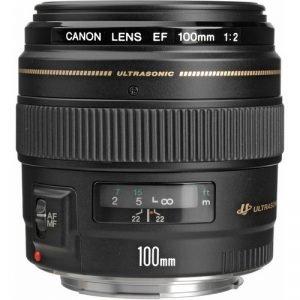 Canon EF 100mm f/2 USM – Garanzia Canon Italia
