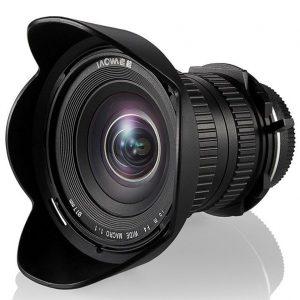 Laowa Venus Optics obiettivo 15mm f/4 WA Macro 1:1