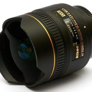 Nikkor AF DX 10.5mm f/2.8 G ED Fisheye Garanzia 4 anni Nital Italia