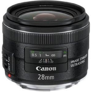 Canon EF 28mm f/2.8 IS USM Garanzia Canon Pass Italia
