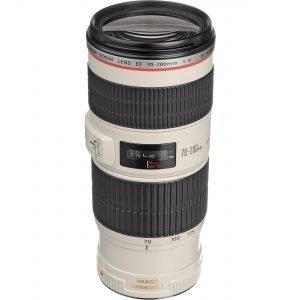 Canon EF 70-200mm f/4 L IS USM Garanzia Canon Italia
