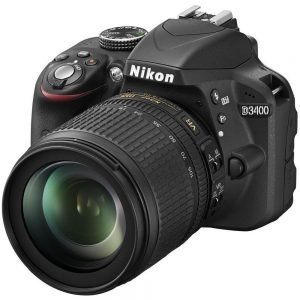 NIKON D3400 CON AF-P DX 18-105 VR Garanzia 4 anni Nital Italia