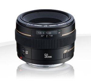 Canon EF 50mm f/1.4 USM – Garanzia Canon Italia