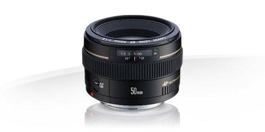 Canon EF 50mm f/1.4 USM Garanzia Canon Pass Italia