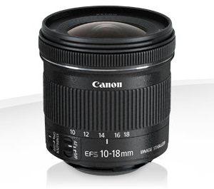 Canon EF-S 10-18mm f/4.5-5.6 IS STM – Garanzia Canon Italia