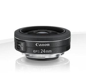 Canon EF-S 24mm f/2.8 STM – Garanzia Canon Italia