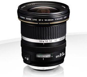 Canon EF-S 10-22mm f/3.5-4.5 USM – Garanzia Canon Italia