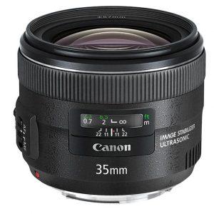 Canon EF 35mm f/2 IS USM – Garanzia Canon Italia