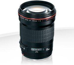 Canon EF 135mm f/2.0 L USM Garanzia Canon Italia 2 anni