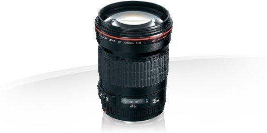 Canon EF 135mm f/2.0 L USM Garanzia Canon Pass Italia