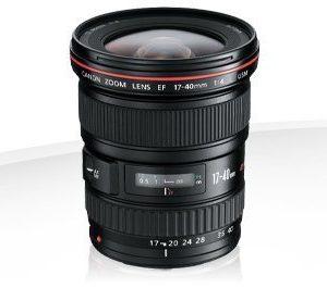 Canon EF 17-40mm f/4.0 L USM Garanzia Canon Pass Italia