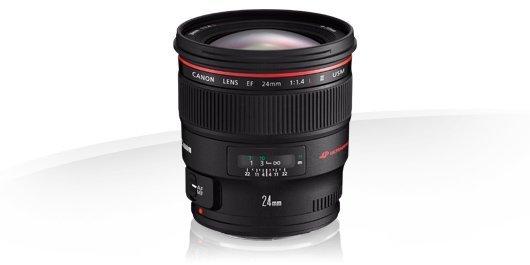 Canon EF 24mm f/1.4 L II Garanzia Canon Pass Italia