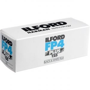 ILFORD FP4 PLUS 125  120 ( 1 Rullino )