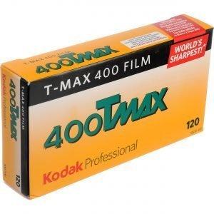 KODAK T-MAX 400 120 ( 5 Rullini )NEW