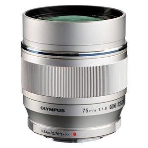 Olympus M.Zuiko Digital ED 75mm f/1.8 Silver Garanzia Polyphoto Italia