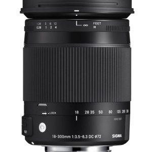 Sigma 18-300mm F/3.5-6.3 AF DC MACRO OS HSM – Garanzia M-trading 3 anni Italia
