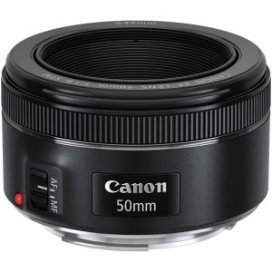 Canon EF 50mm f/1.8 STM Garanzia Canon Pass Italia