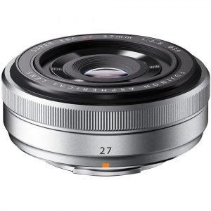 Fujifilm XF 27mm f/2.8 R Silver Garanzia 2 anni Fujifilm Italia