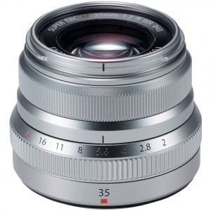 Fujifilm XF 35mm f/2 R WR Silver Garanzia 2 anni Fujifilm Italia