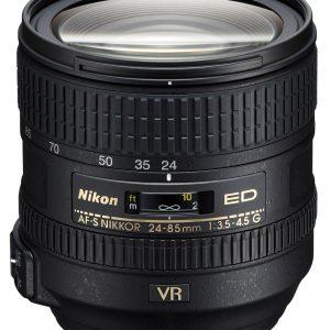 Nikkor AF-S 24-85mm f/3.5-4.5 G ED VR Garanzia 4 anni Nital Italia