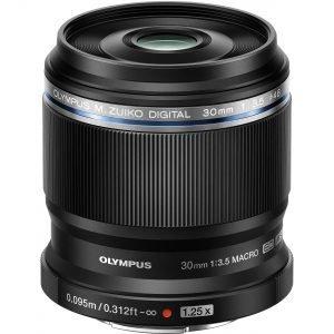 Olympus 30mm f/3.5 Macro M.Zuiko Digital ED Garanzia Polyphoto Italia