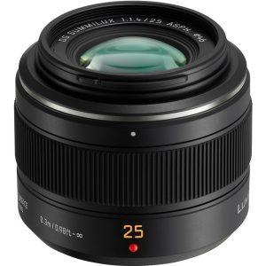 Panasonic Leica DG Summilux 25mm f/1.4 ASPH  Garanzia 4 anni Fowa Italia