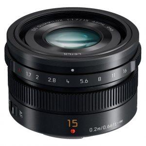 Panasonic Leica DG Summilux 15mm f/1.7 ASPH  Garanzia 4 anni Fowa Italia