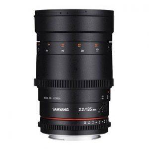 Samyang 135mm f/2,2 VDSLR Garanzia Fowa