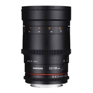 Samyang 135mm f/2,2 VDSLR – Garanzia Fowa Cine Lens