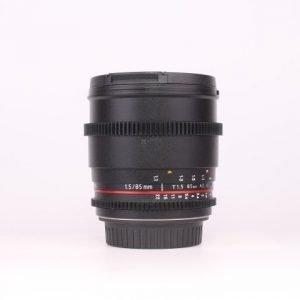Rokinon 85mm T1.5 Cine Lens per Canon EF