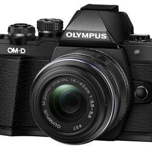 Olympus OM-D E-M10 Mark III Black 14/42 IR Garanzia Polyphoto Italia