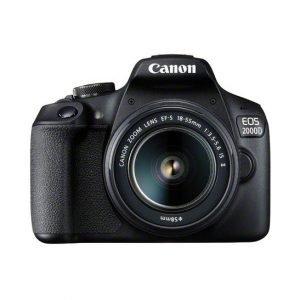 Canon EOS 2000D con 18/55 – Garanzia Canon Italia