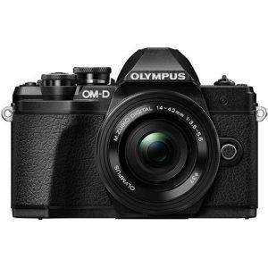 Olympus OM-D E-M10 Mark III Black 14/42 EZ Garanzia Polyphoto Italia